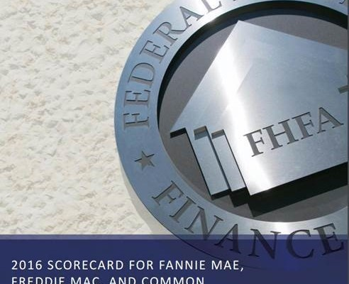 New 2016 FHFA scorecard released - Scottsdale Area